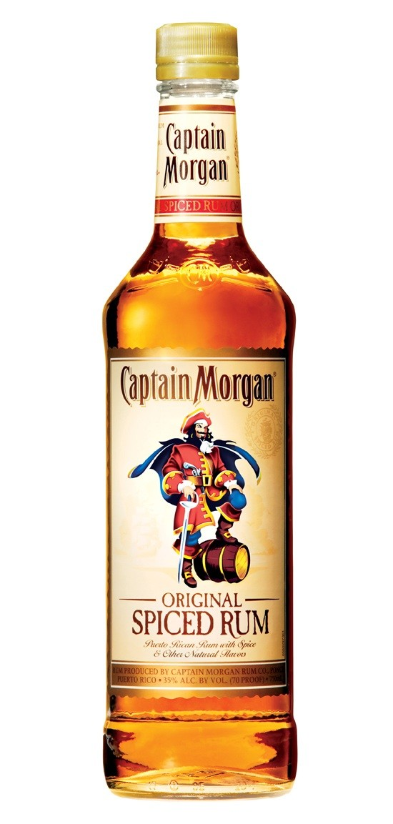 CAPITAN Captain MORGAN SPICED speziato RUM cl 100