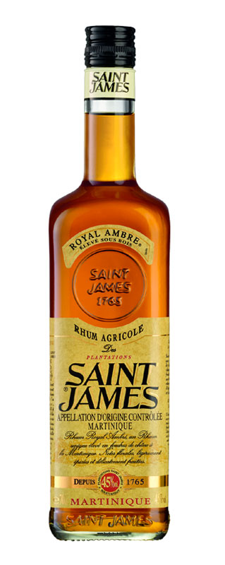 SAINT JAMES AMBRATO AMBRE agricolo RUM cl 100