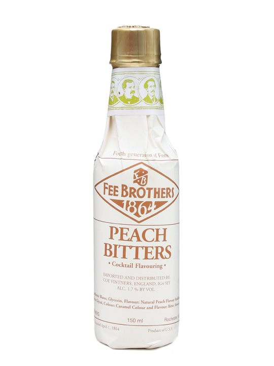 PEACH FEE BROTHERS 1864 BITTERS Bitter cl 10