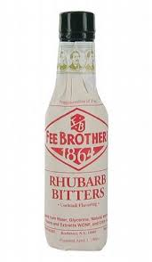 RHUBARB FEE BROTHERS 1864 BITTERS Bitter cl 10