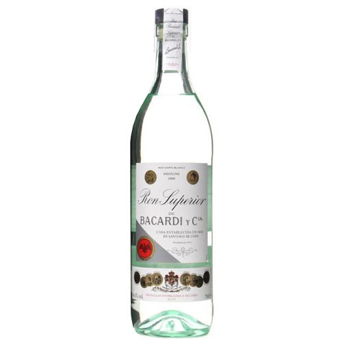 BACARDI NEW RON SUPERIOR heritage 44,5° RUM CL 70