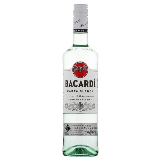 BACARDI CARTA BLANCA ron superior cl 100