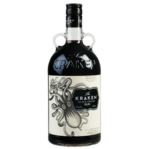 KRAKEN  black spiced rum ron cl 70